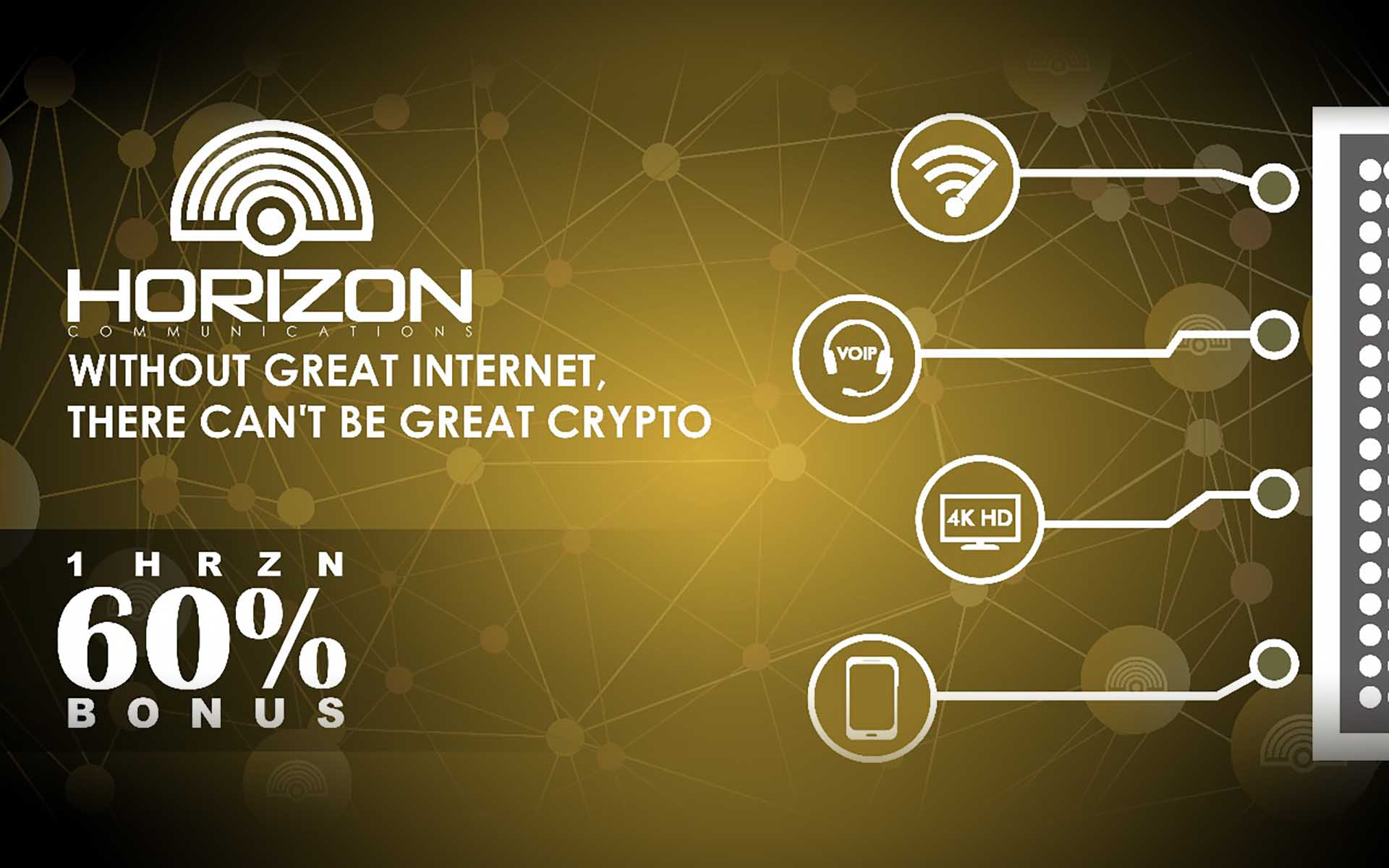 Horizon Pre-ICO Starting March 19 - 60% Discount for Investors