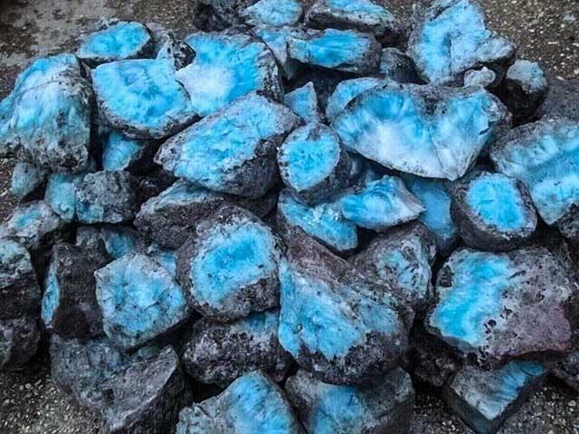 The Blue Beauty