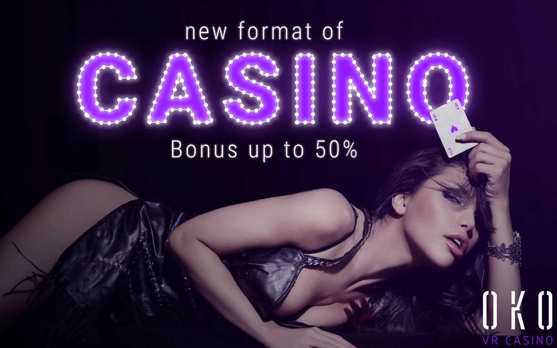 VR Casino OKO – New VR Technology's Project