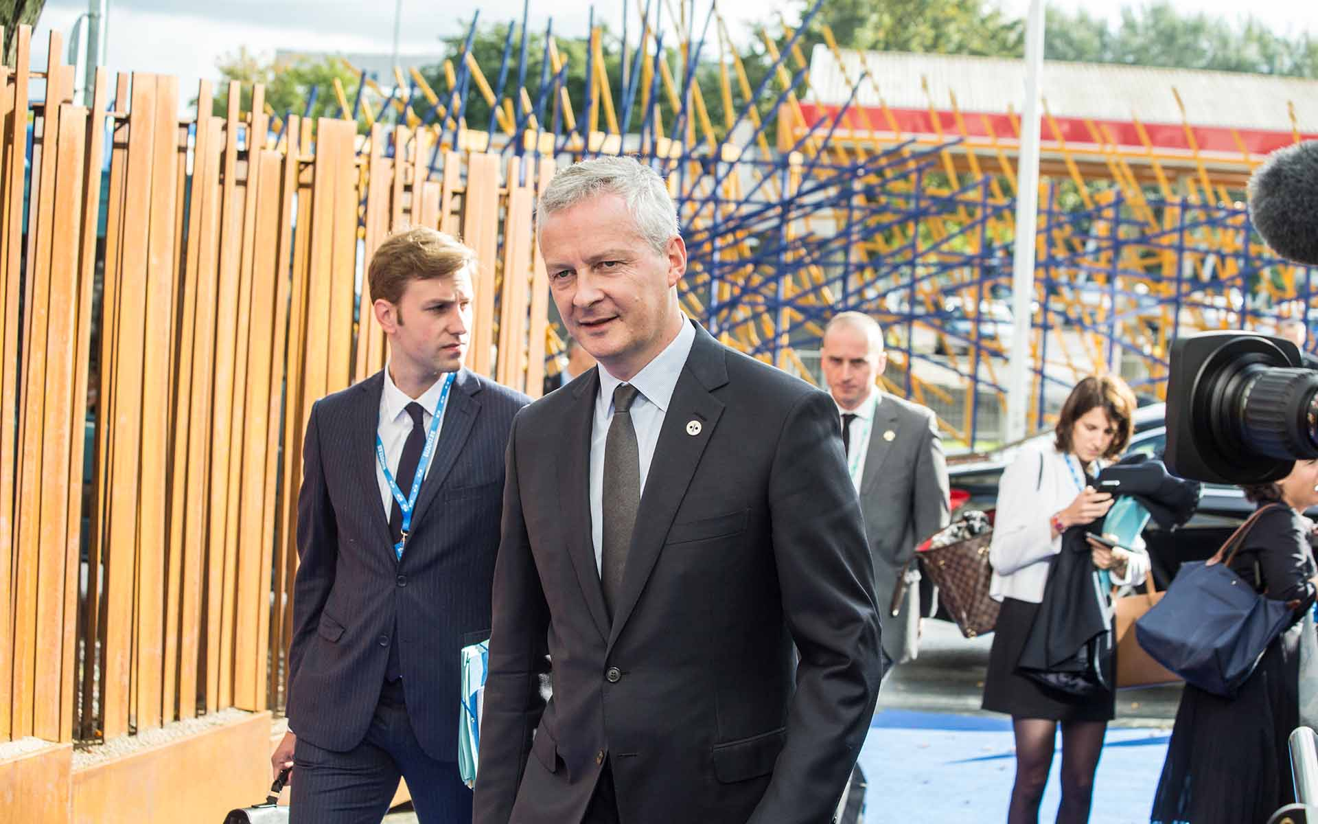 It's a Go for Crypto from French Finance Minister Le Maire
