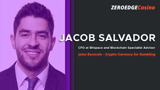 ZeroEdge announces Jacob Salvador as New Advisor