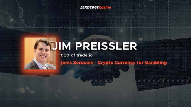 ZeroEdge is extremely excited to announce that Trade.io CEO, Jim Preissler has joined the ZeroEdge advisory team.