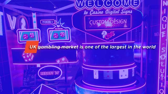 UK Gambling Market Is One of the Largest in the World