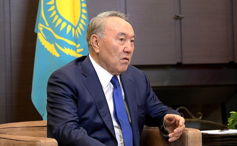 President Nursultan Nazarbayev of Kazakhstan