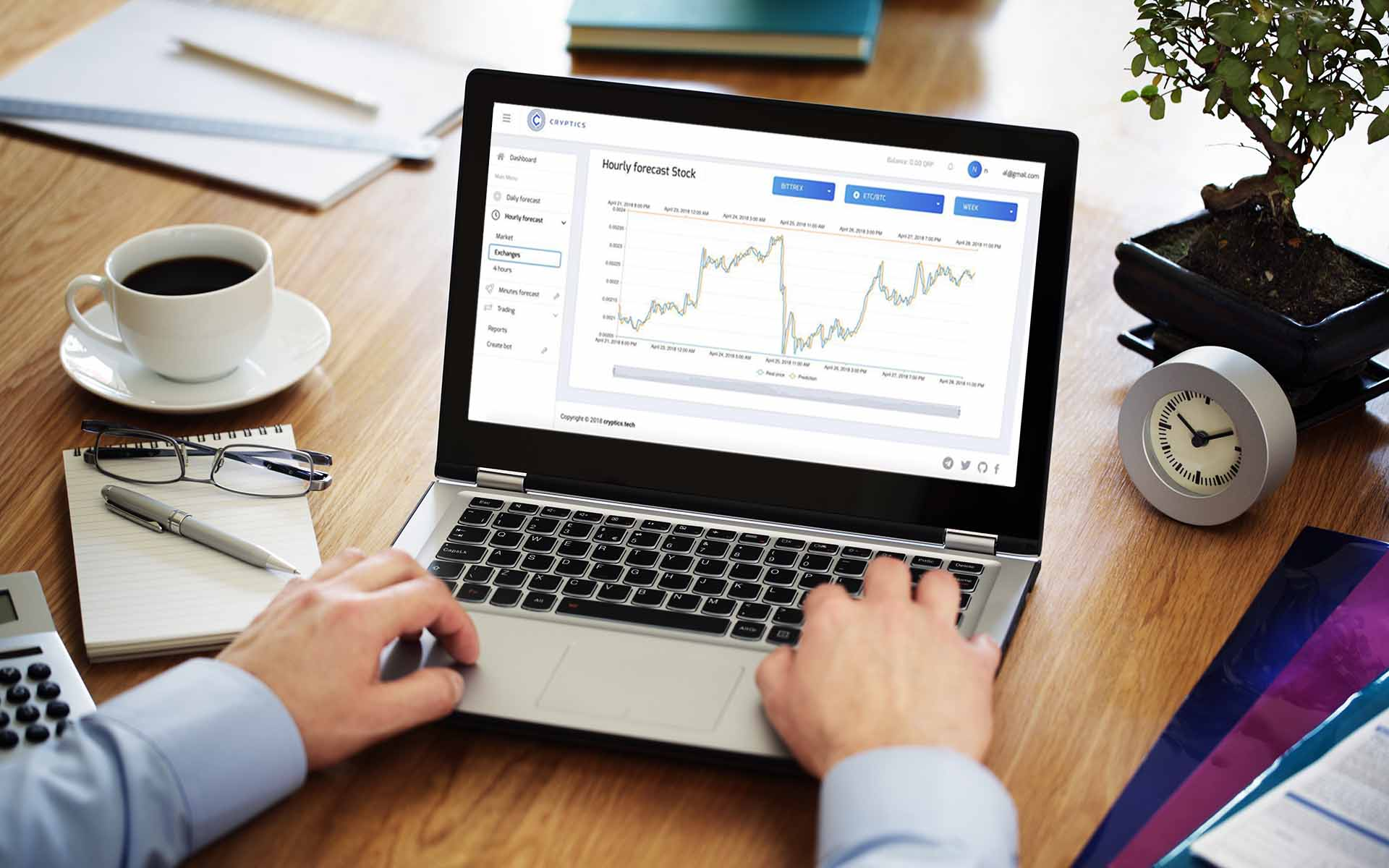 AI Powered Exchange Rate Forecaster Cryptics Launches MVP