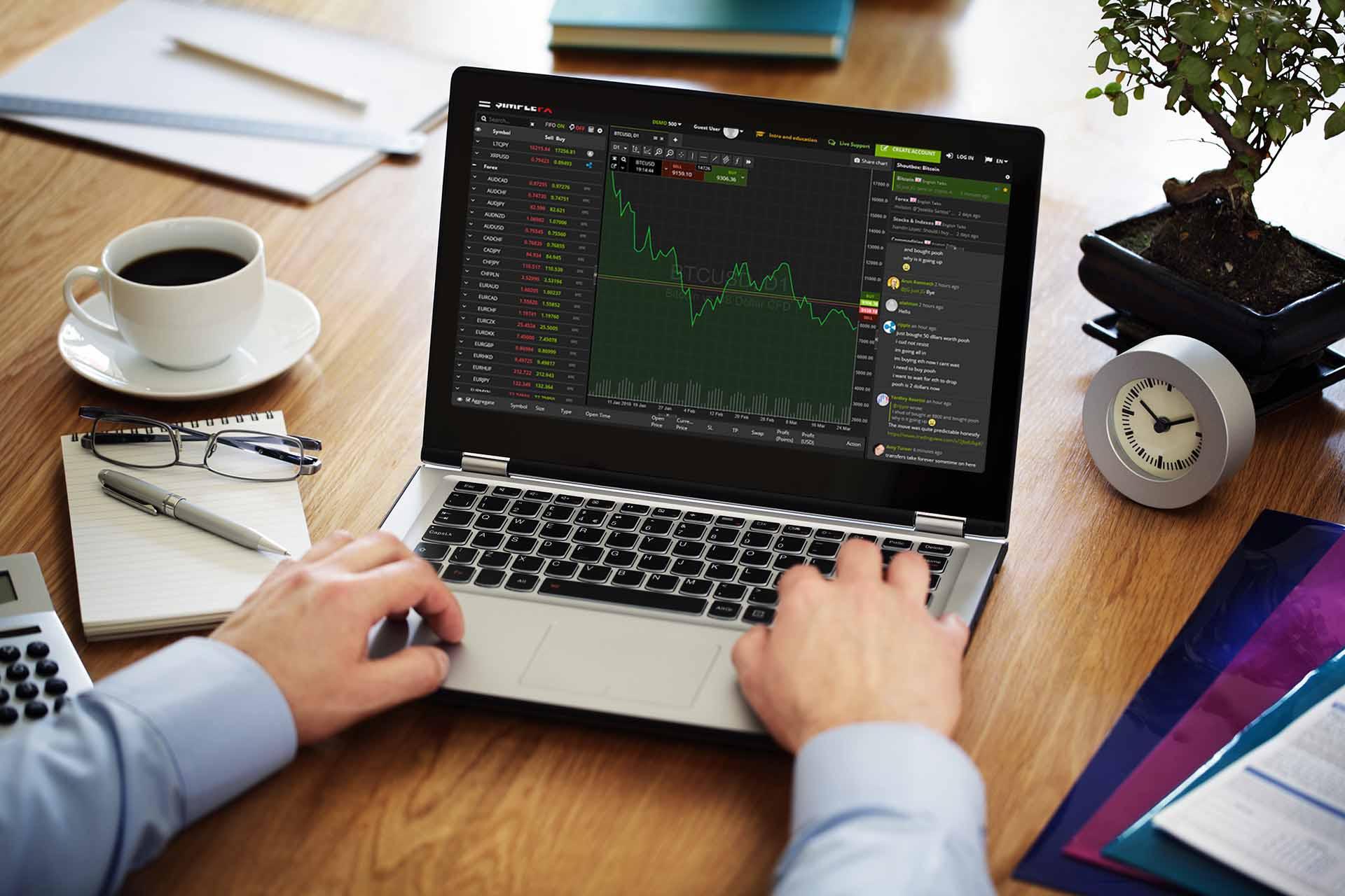 SimpleFX Launches BETA Webtrader Platform