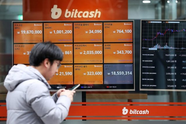 Cryptocurrency booming in Korea