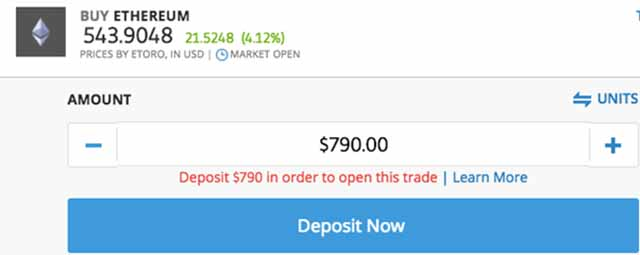 Trading Ethereum - Step 4