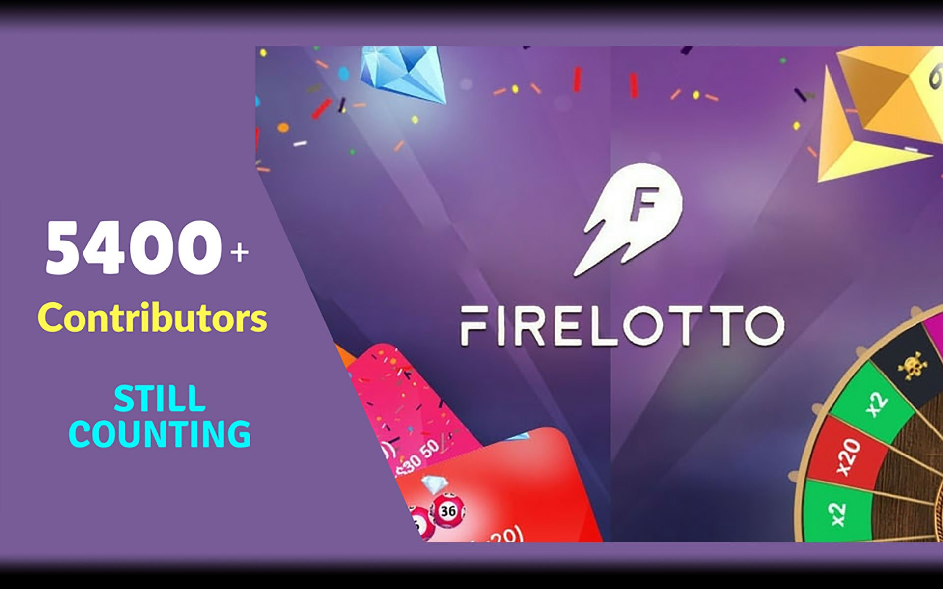 FireLotto Crypto Lottery ICO Is In Full Swing With 5400+ Contributors