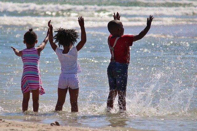 South African children
