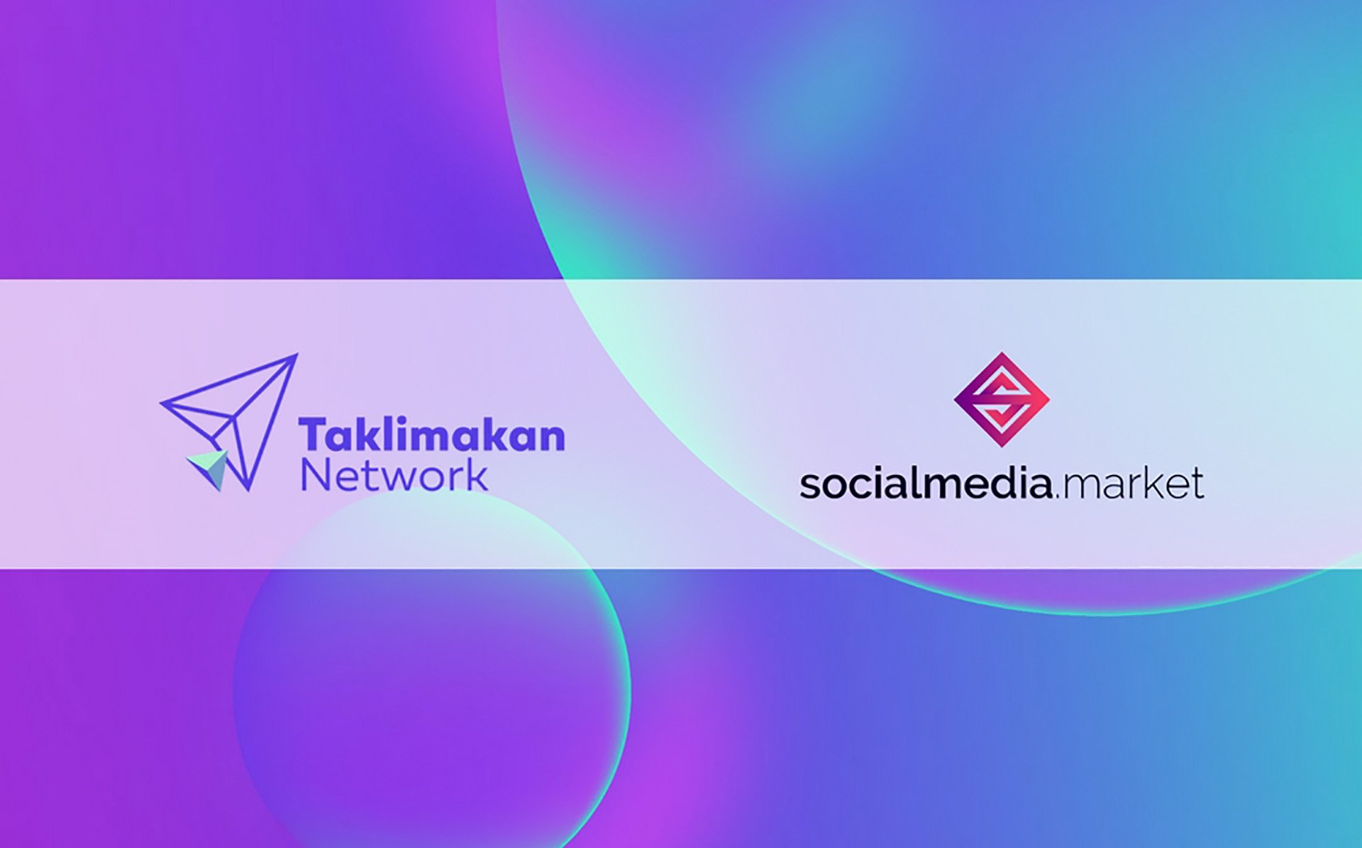 Taklimakan Network and SocialMedia.Market Form Partnership