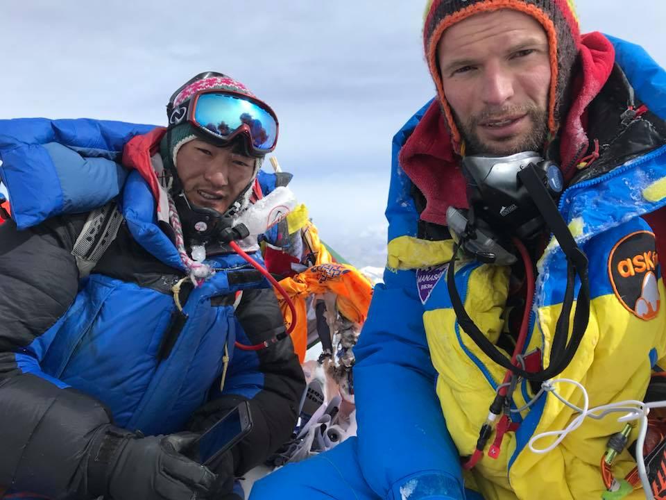 Climbing Mount Everest