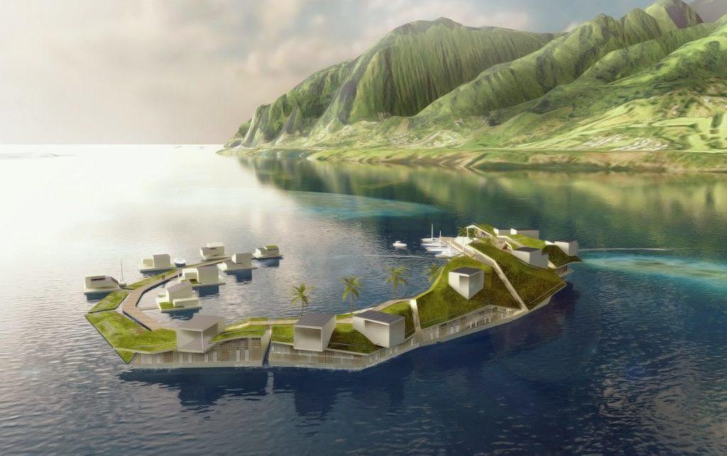 On Sea: Seastead's Autonomous Island
