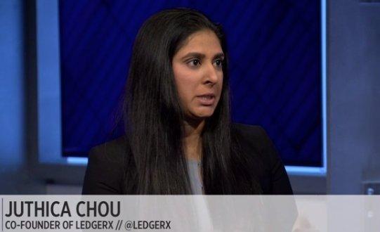 LedgerX co-founder Juthica Chou