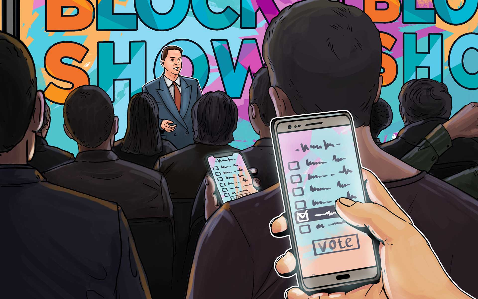 BlockShow Set to Use World's First Blockchain Polling Application During Their Blockchain Conference in Berlin