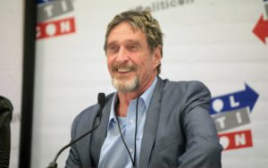 John McAfee Says Bitcoin Will Surpass $15,000 in June