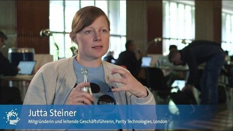 Parity CEO Jutta Steiner