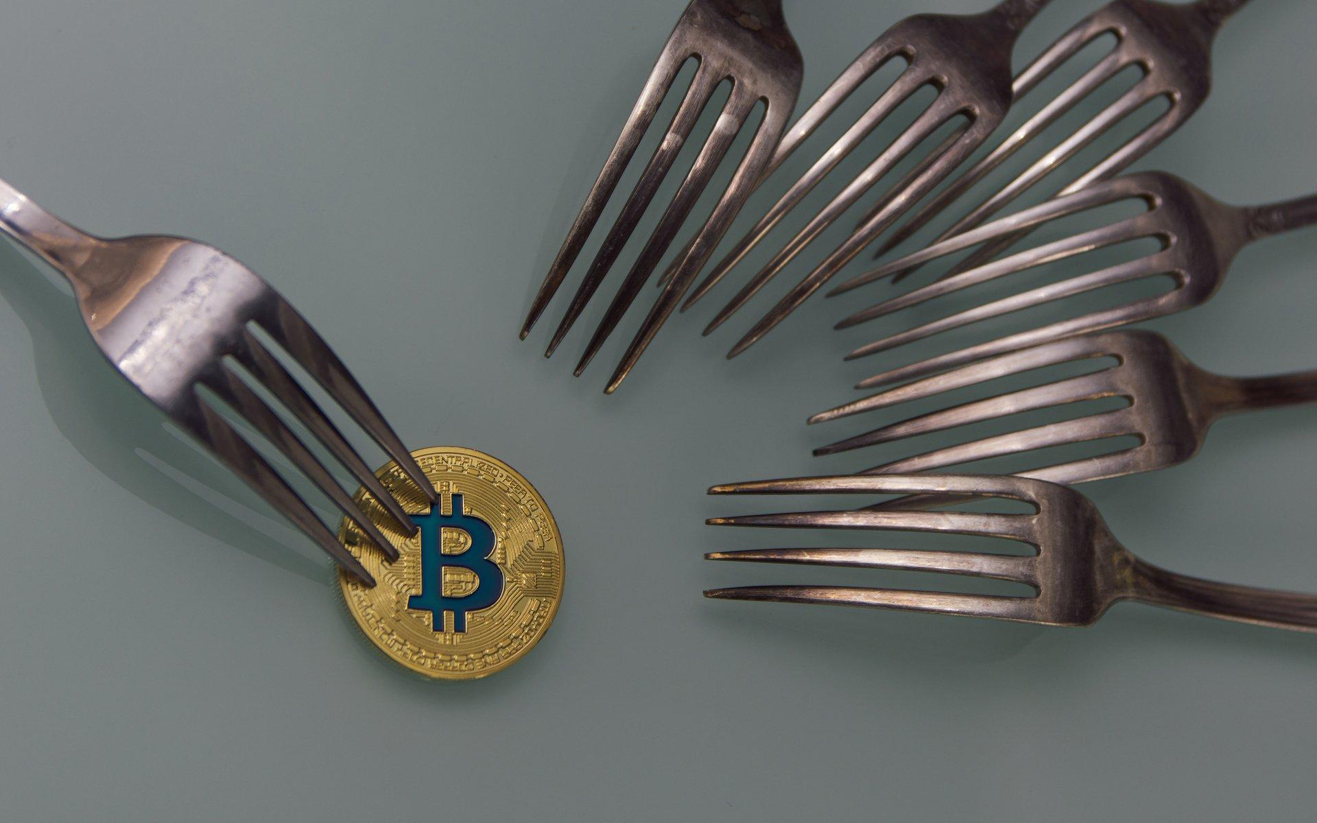 Bitcoin fork forks hard forks
