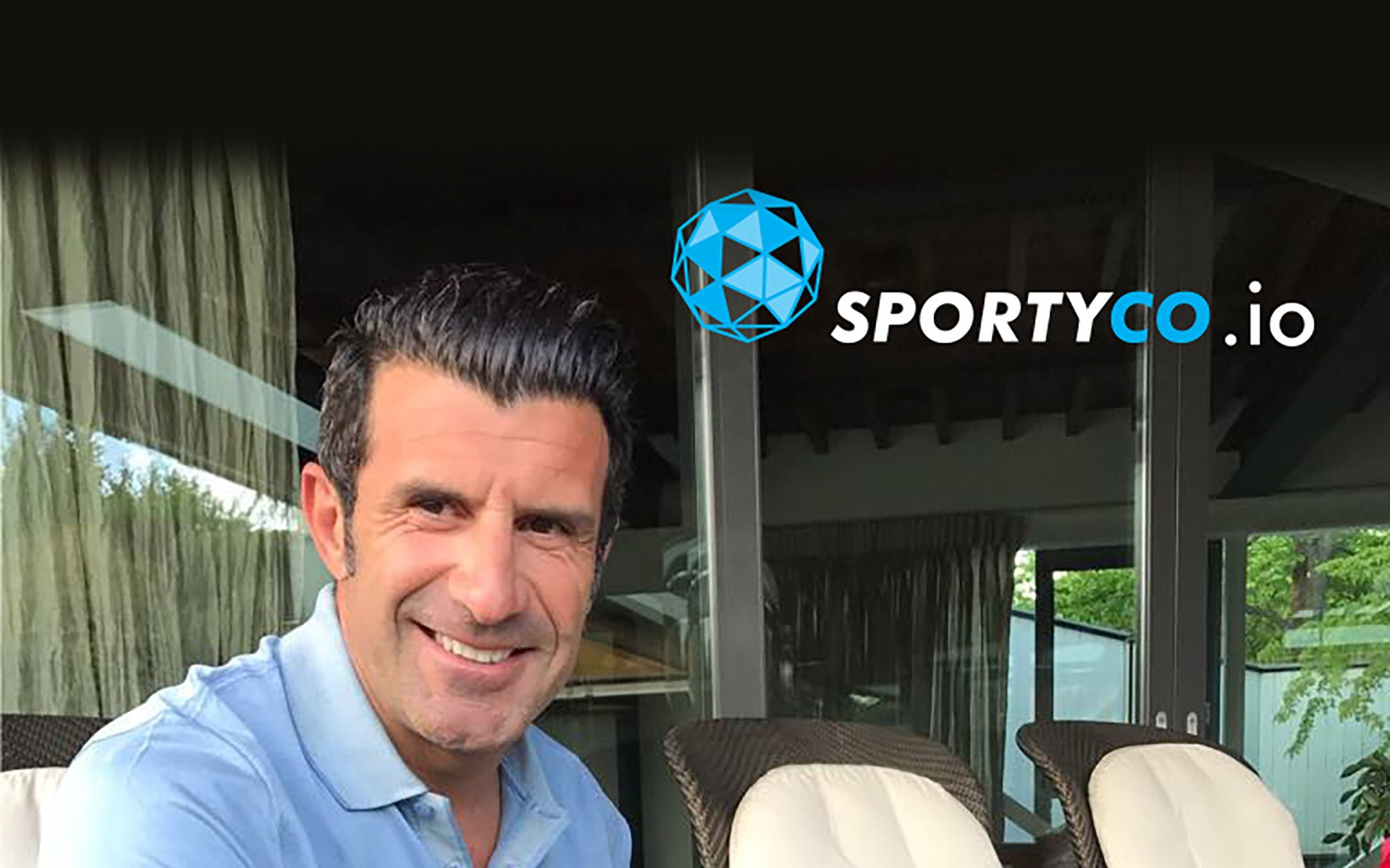 SportyCo Welcomes Luís Figo and Prepares to Host the World Sports BIockchain Summit