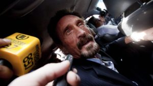 John McAfee Running for US President in 2020