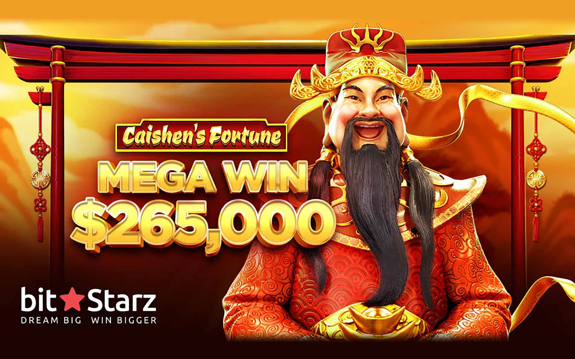 Another Huge Prize Falls at BitStarz, Lucky Player Scoops $265,000 Win!