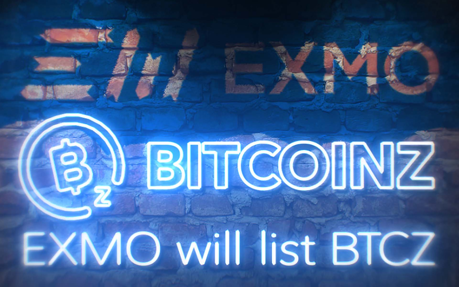 BTCz is Listed on EXMO - #1 Exchange in Eastern Europe