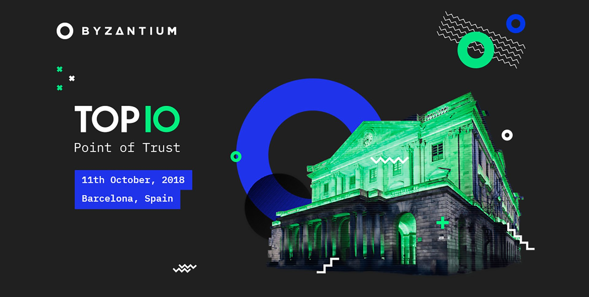 The All-Star of Blockchain Events: Byzantium Presents Top10. Point of Trust