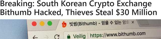 eToro - Bithumb hacked