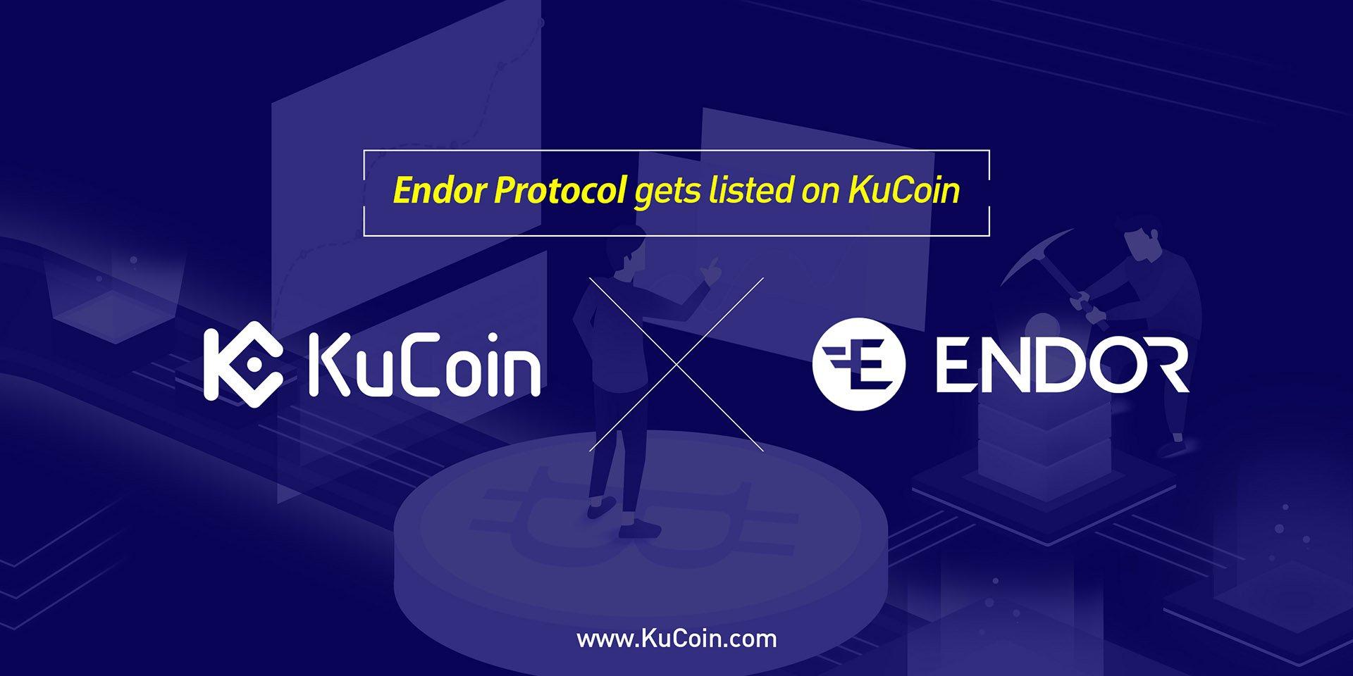 Endor Protocol (EDR) Gets Listed on KuCoin!