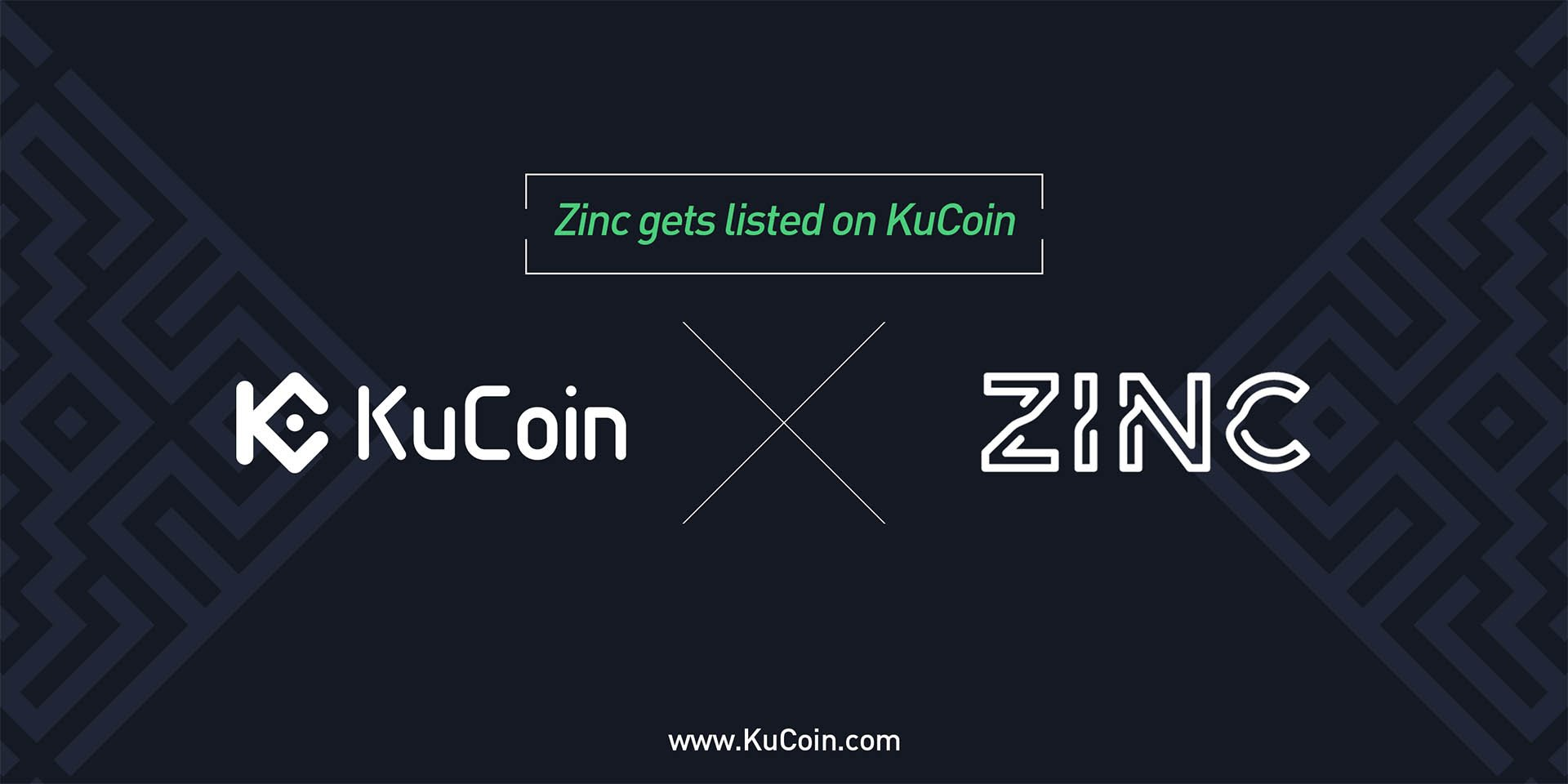 Zinc (ZINC) Gets Listed on KuCoin!