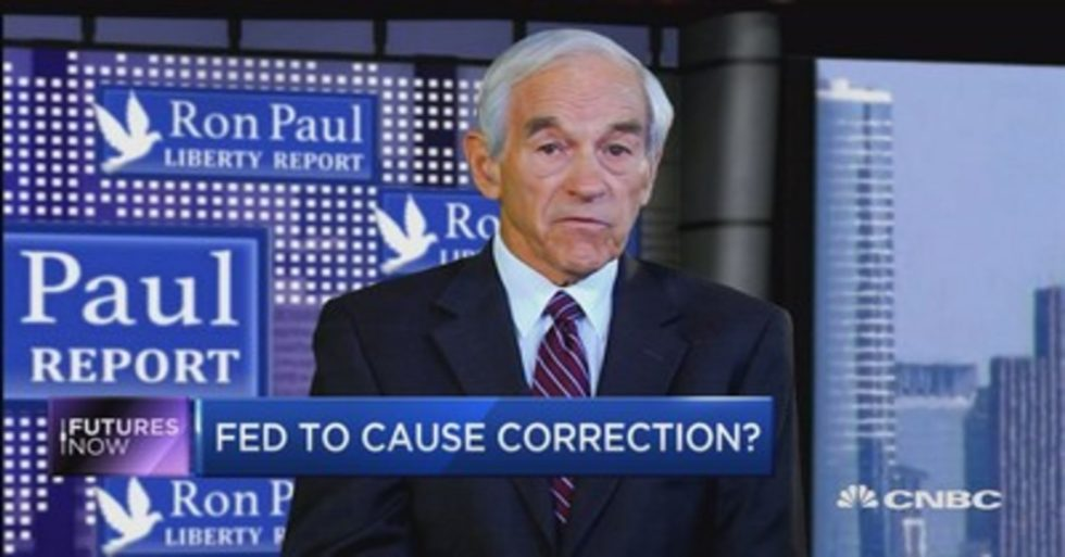 Ron Paul: A World-Wide Monetary Crisis Is Fast Approaching
