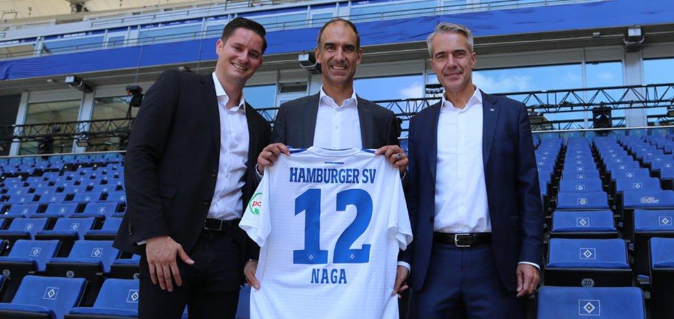 NAGA has partnered up with Hamburg SV.