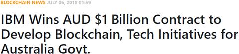 IBM Wins AUD $1 Billion Contract to Develop Blockchain, Tech Initiatives for Australia Govt