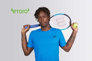 Monfils Sponsorship with eToro