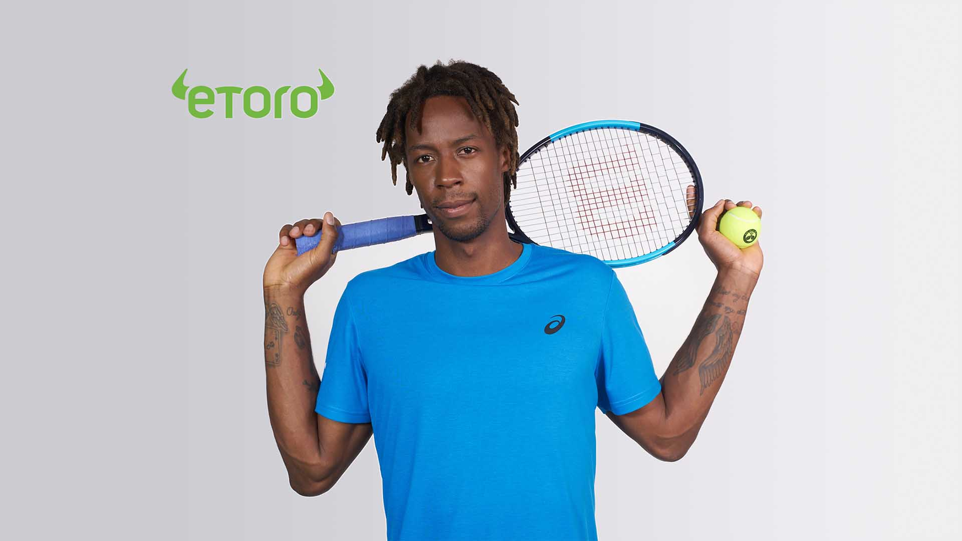 Monfils Sponsorship with eToro