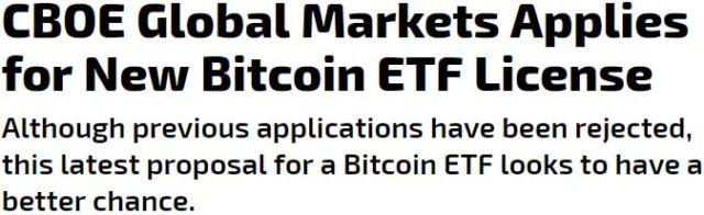 eToro - Bitcoin ETF