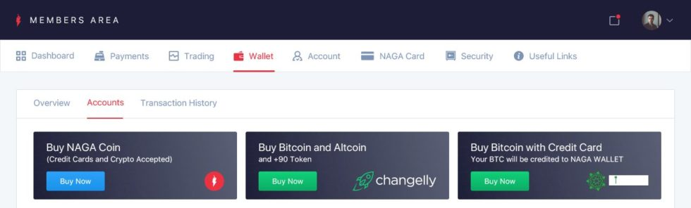 Simplex Integrates into NAGA Wallet