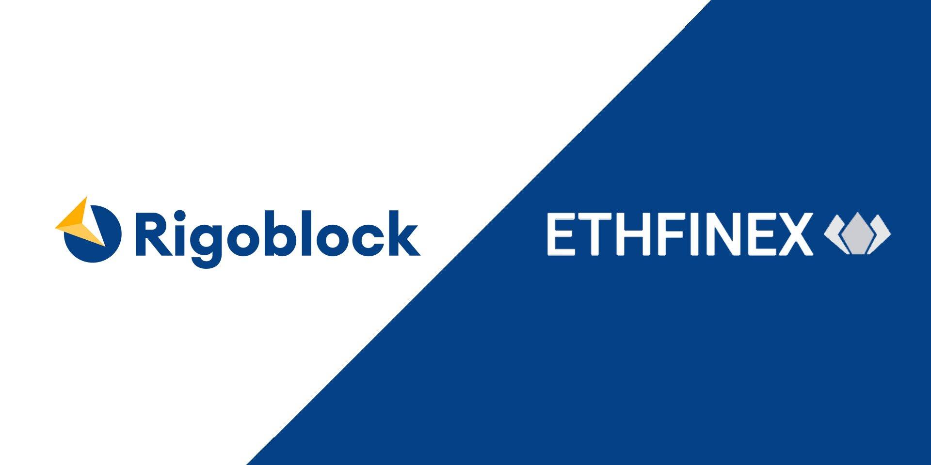 Asset Management Network RigoBlock Announces Ethfinex Partnership