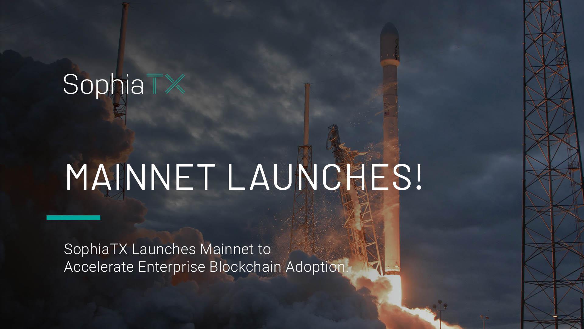 SophiaTX Launches Enterprise-Ready Public Blockchain