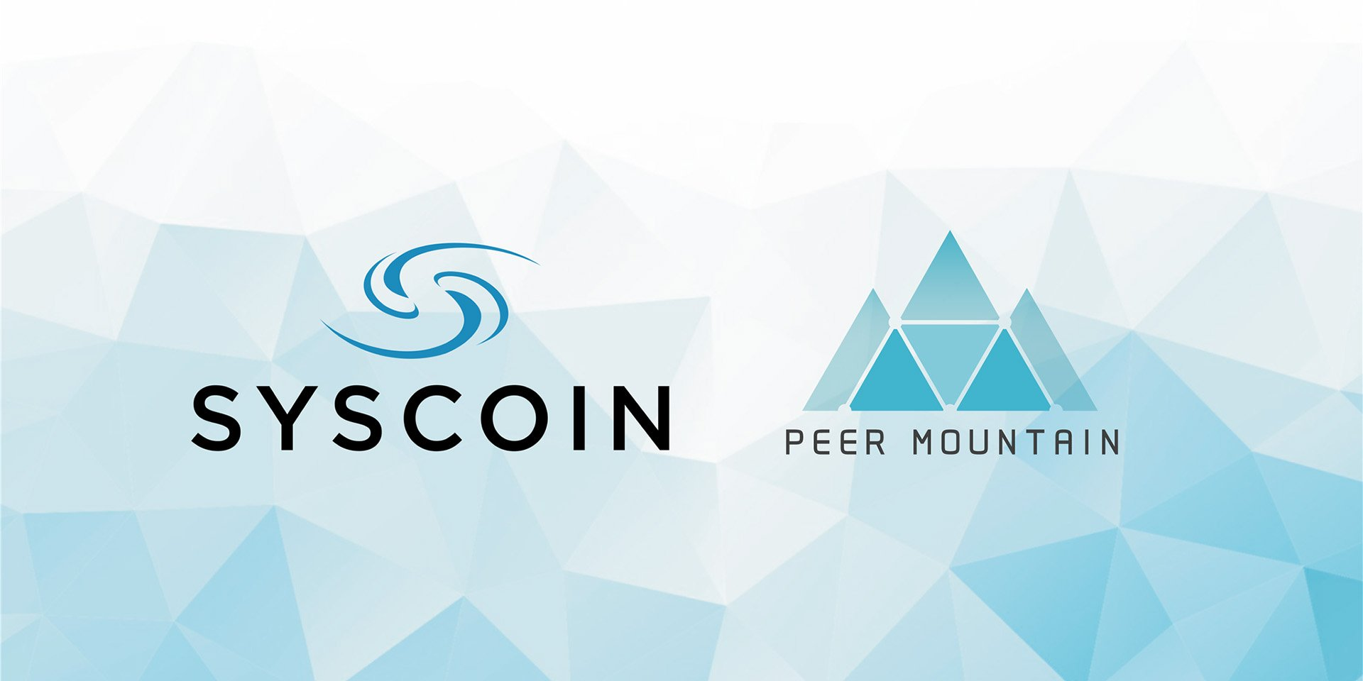 Peer Mountain and Syscoin Announce Partnership to Deliver Regulatory Compliant E-Commerce On-Chain