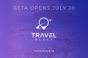 Vacationing Through the Blockchain Starts on 28th July as TravelBlock BETA Launches with Free Trips