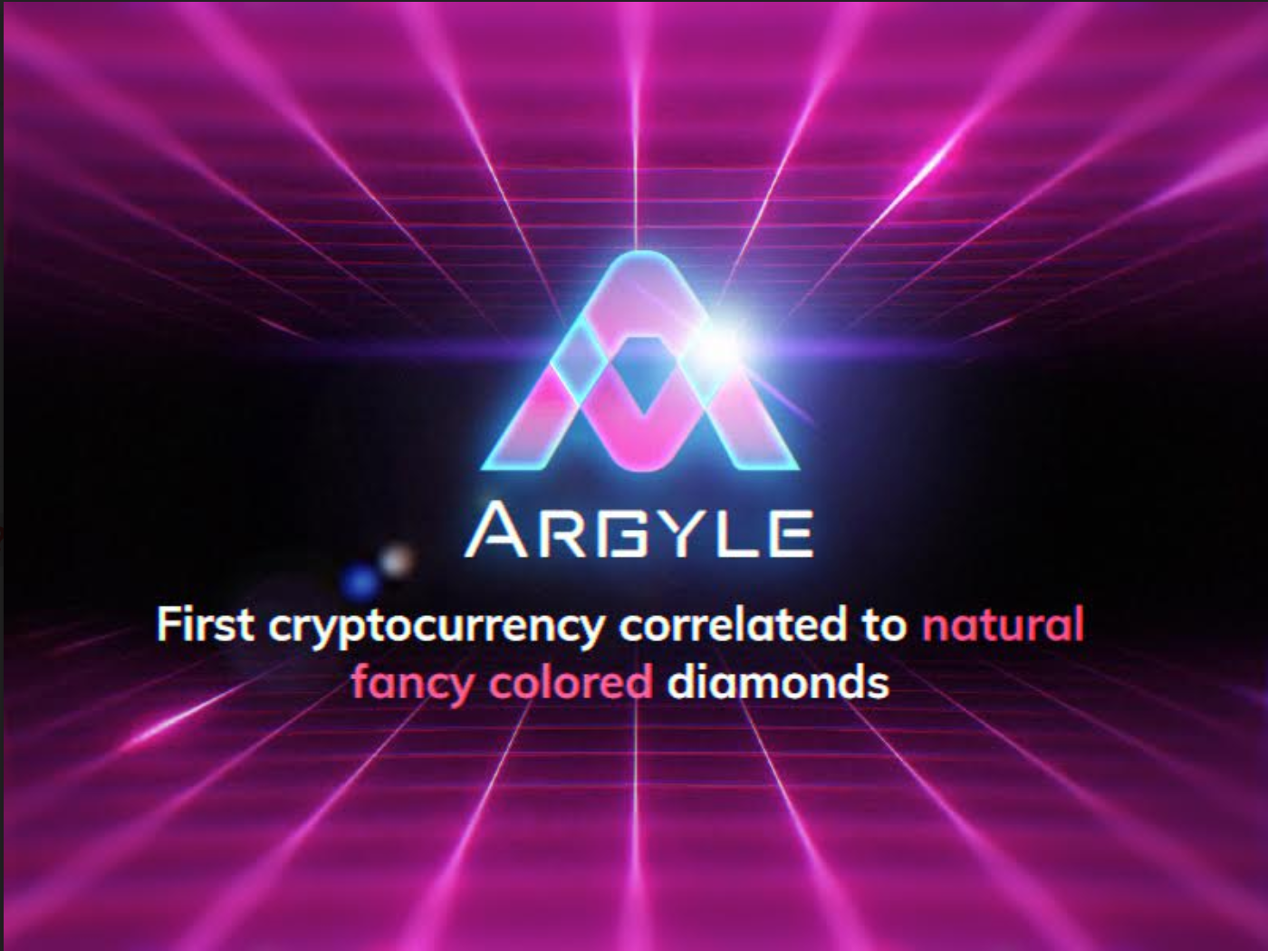 Argyle Coin Becomes the First Cryptocurrency Ever to be Backed by a Performance Bond and Fancy Colored Diamonds Worth $25 Million