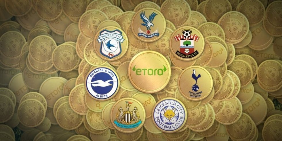 In late August, seven different teams in the English Premier League decided to set up a wallet with eToro to help facilitate Bitcoin payments to players.