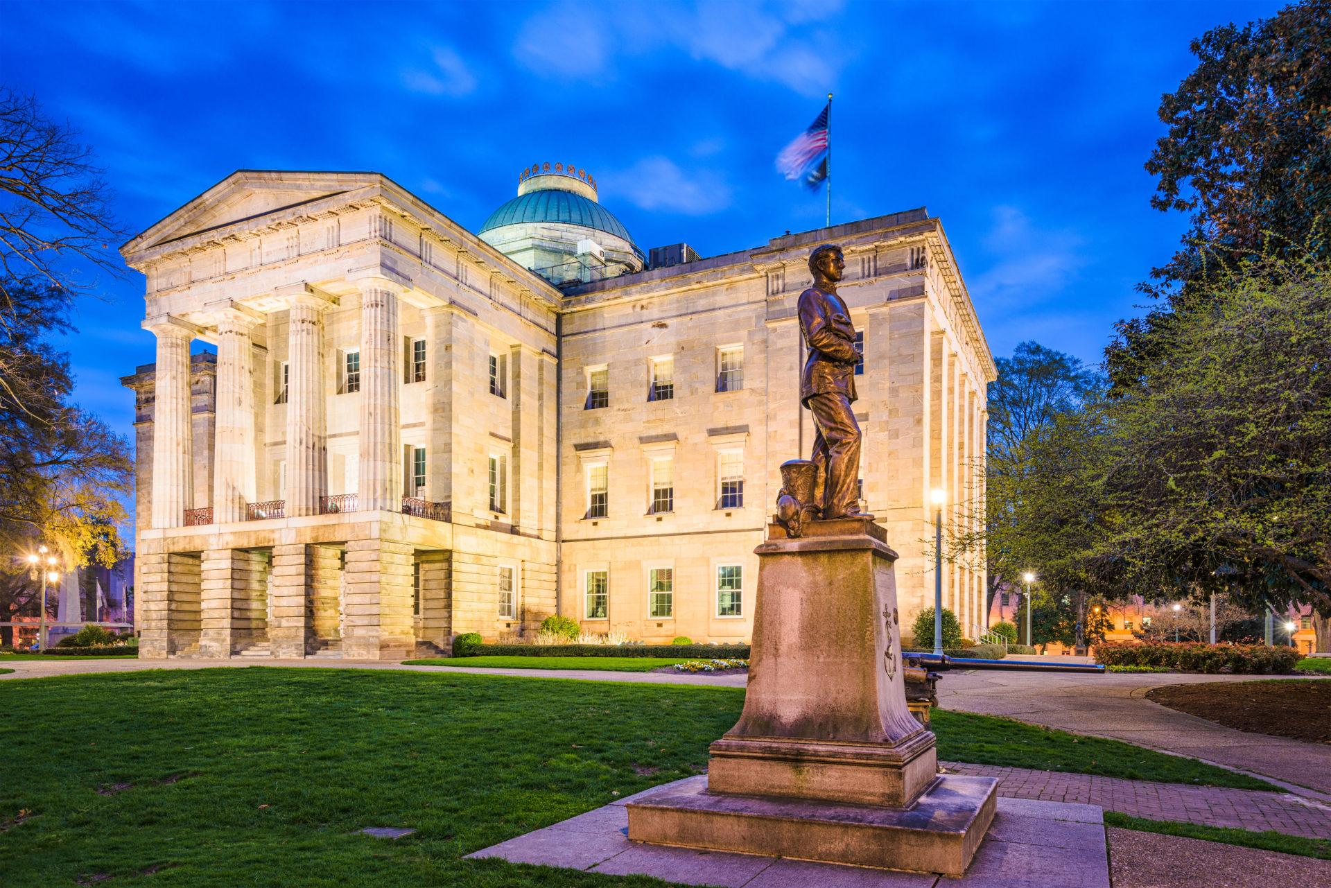 North Carolina Bans Crypto Donations for Election Candidates