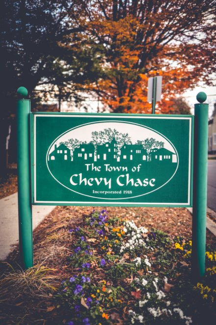 Most of the Chevy Chase neighborhood's well-off residents would shudder at blackmail threats like this. but there's just one problem.