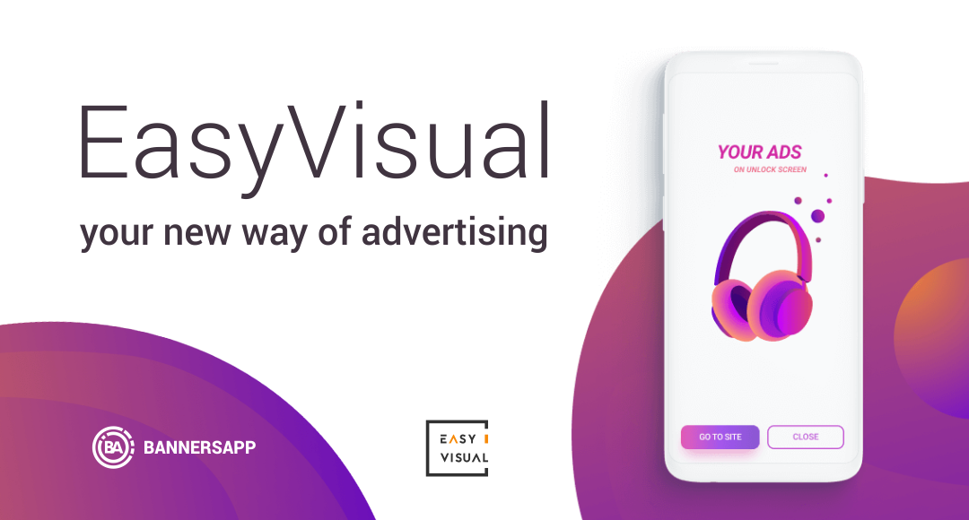 easyvisual introduced new way to use banner ads for brands promotion