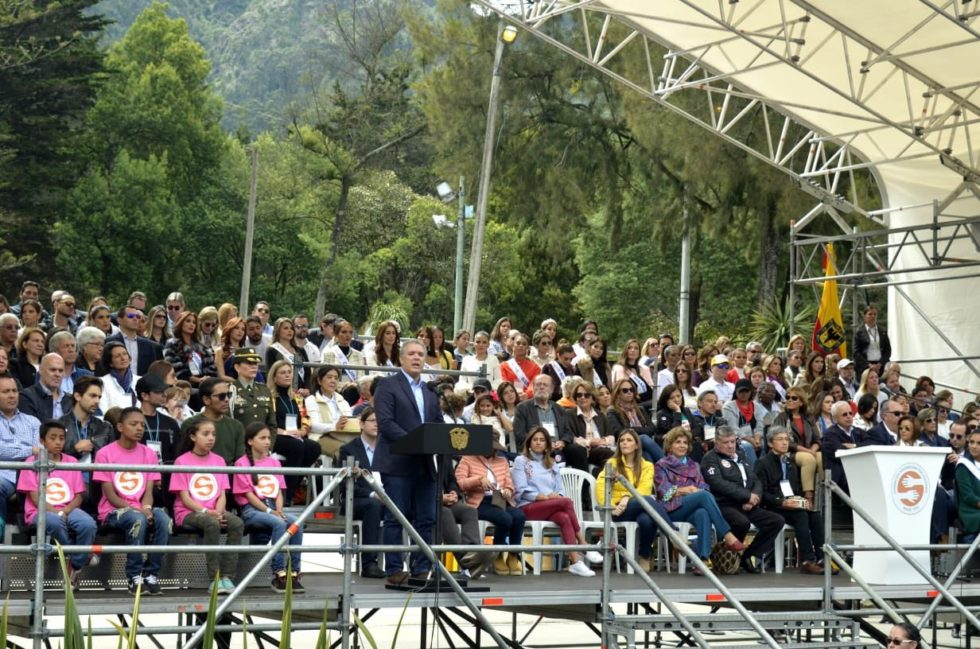 President Ivan Duque made several important comments at the ANDICOM conference held each year in Colombia.