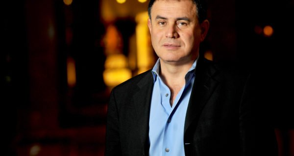Roubini and Vays Square off on Block Show