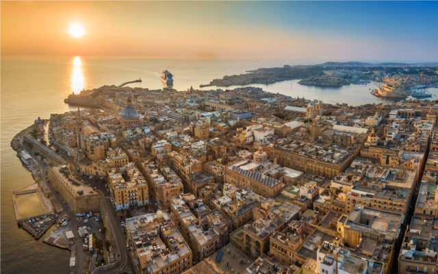 Malta Valletta Bitcoin real estate