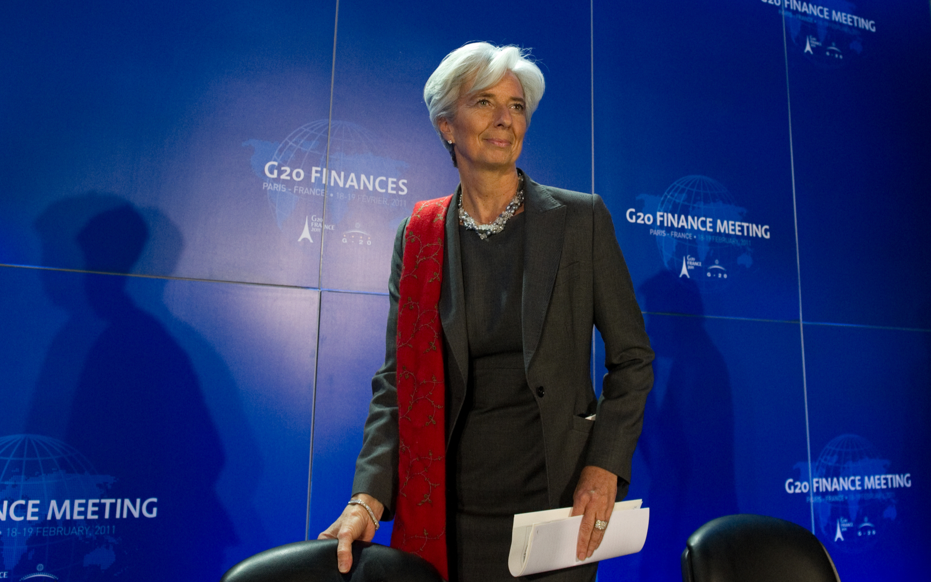 International Monetary Fund chief call for central bank backed digital currencies